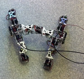 A Modular H-Shaped 4-Legged Robot