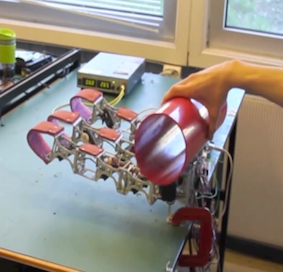 A Modular Robotic Hand with Vision Object Recognition capabilities