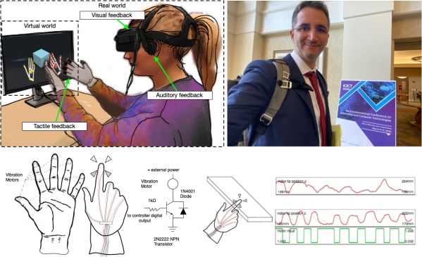 A Low-Cost Multi-Modal Auditory-Visual-Tactile Framework for Remote Touch