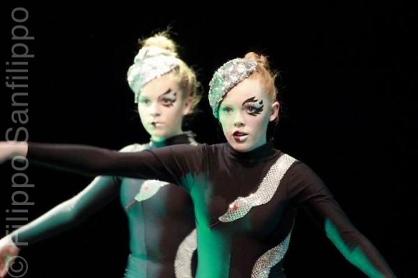 Ålesund Ballettskole, Cirque Des Rêves (backstage)