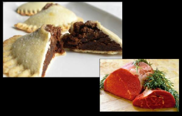 Cassatelle di Agira con la carne di manzo
