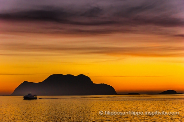 Colourful sunset, Ålesund
