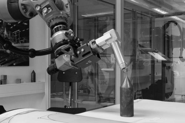Kuka robot, calibration process