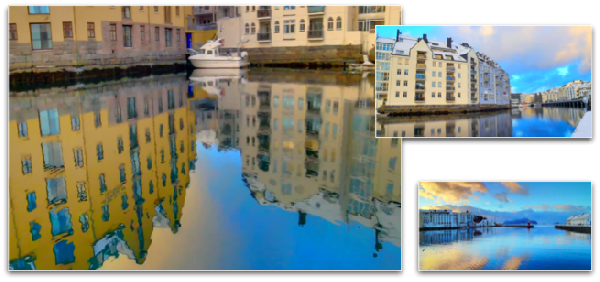 HDR VIDEO - Ålesund, the beautiful city