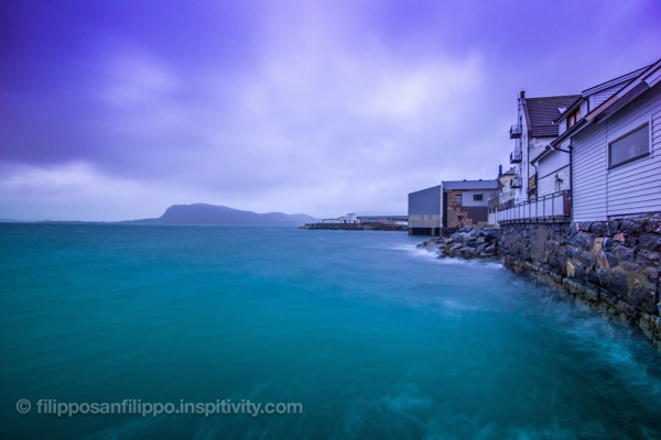 Storm and long exposure photography