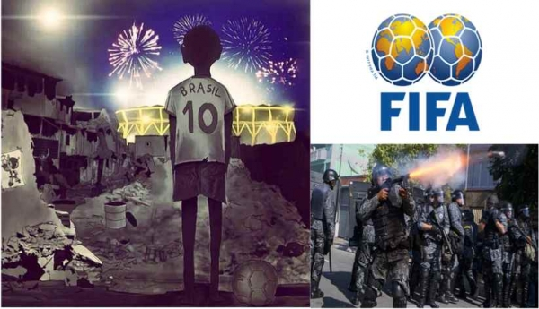 The true story behind FIFA. GO HOME FIFA!
