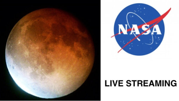 Watch the Total Lunar Eclipse Turns the Moon Red. Today!