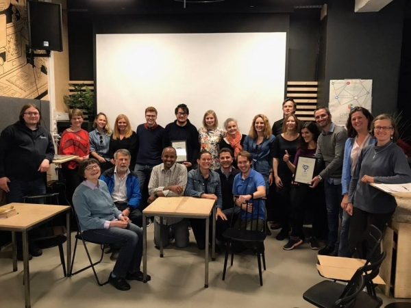 1st prize at the SOCRATIC Social innovation Hackathon in Trondheim