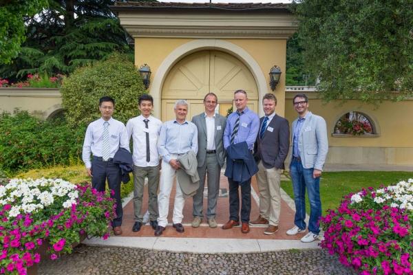 Aalesund University College delegation at ECMS 2014
