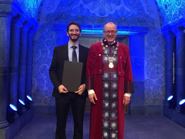Doctoral Awards Ceremony at Norwegian University of Science and Technology