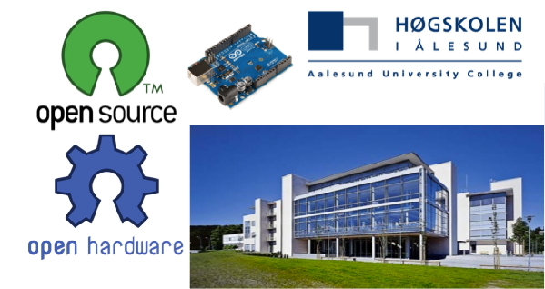 Innovating teaching at Aalesund University College with Arduino and Open Source software