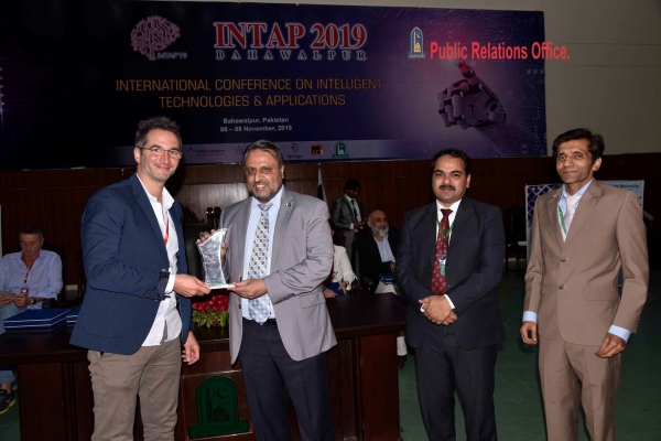 Filippo Sanfilippo, keynote speaker at the International Conference on Intelligent Technologies and Applications INTAP 2019