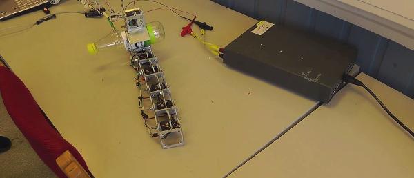 Modular grasping snake robot