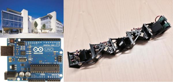 Programming modular robots with Arduino, Aalesund University College