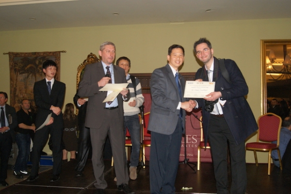 Award Scholarship at the IEEE ICIT2015