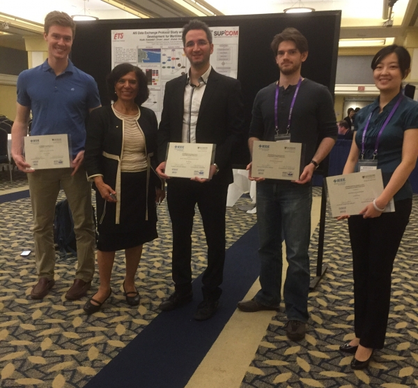 Third Prize at the IEEE CCECE 2015